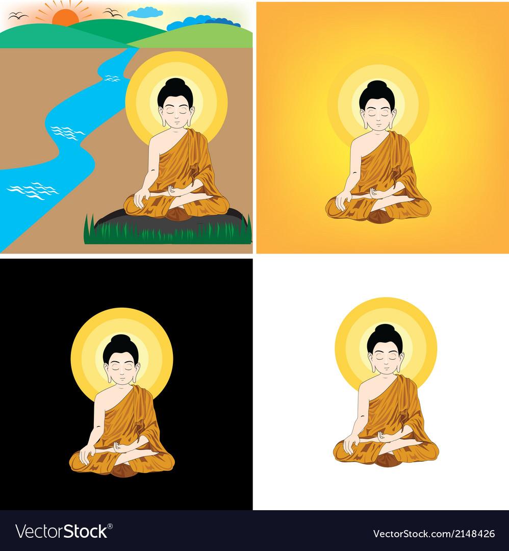 Bhuddha vector | Price: 1 Credit (USD $1)