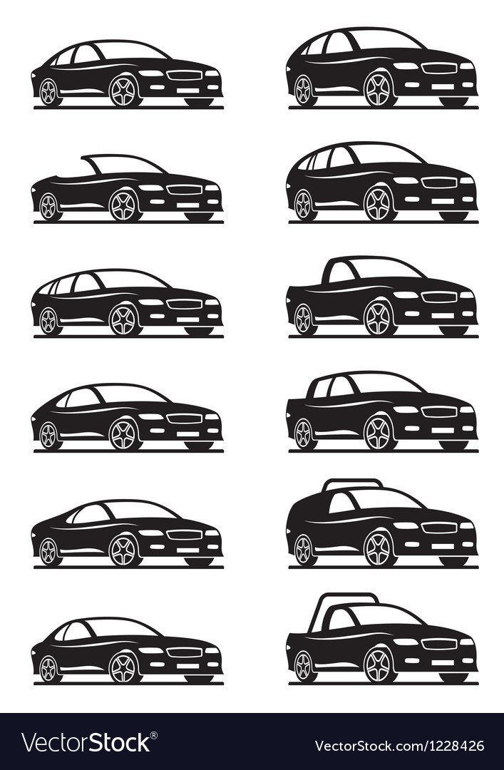 Cars and off road vehicles vector | Price: 1 Credit (USD $1)