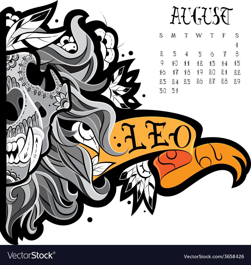 Lion tattoo vector | Price: 1 Credit (USD $1)