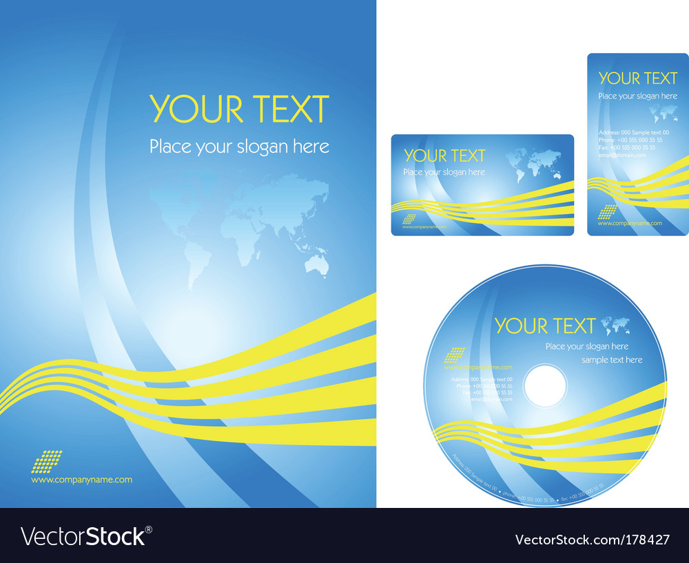 Business template vector | Price: 1 Credit (USD $1)