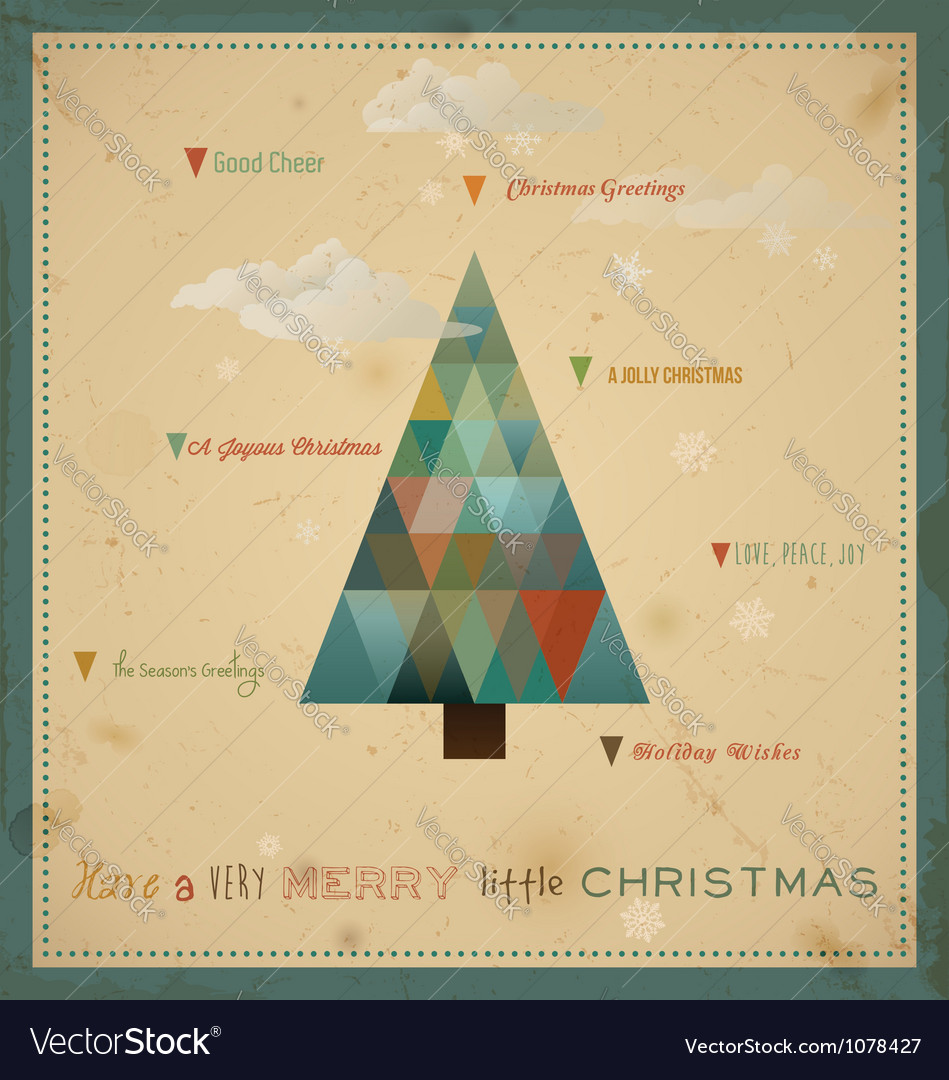 Have a very merry little christmas vector | Price: 1 Credit (USD $1)