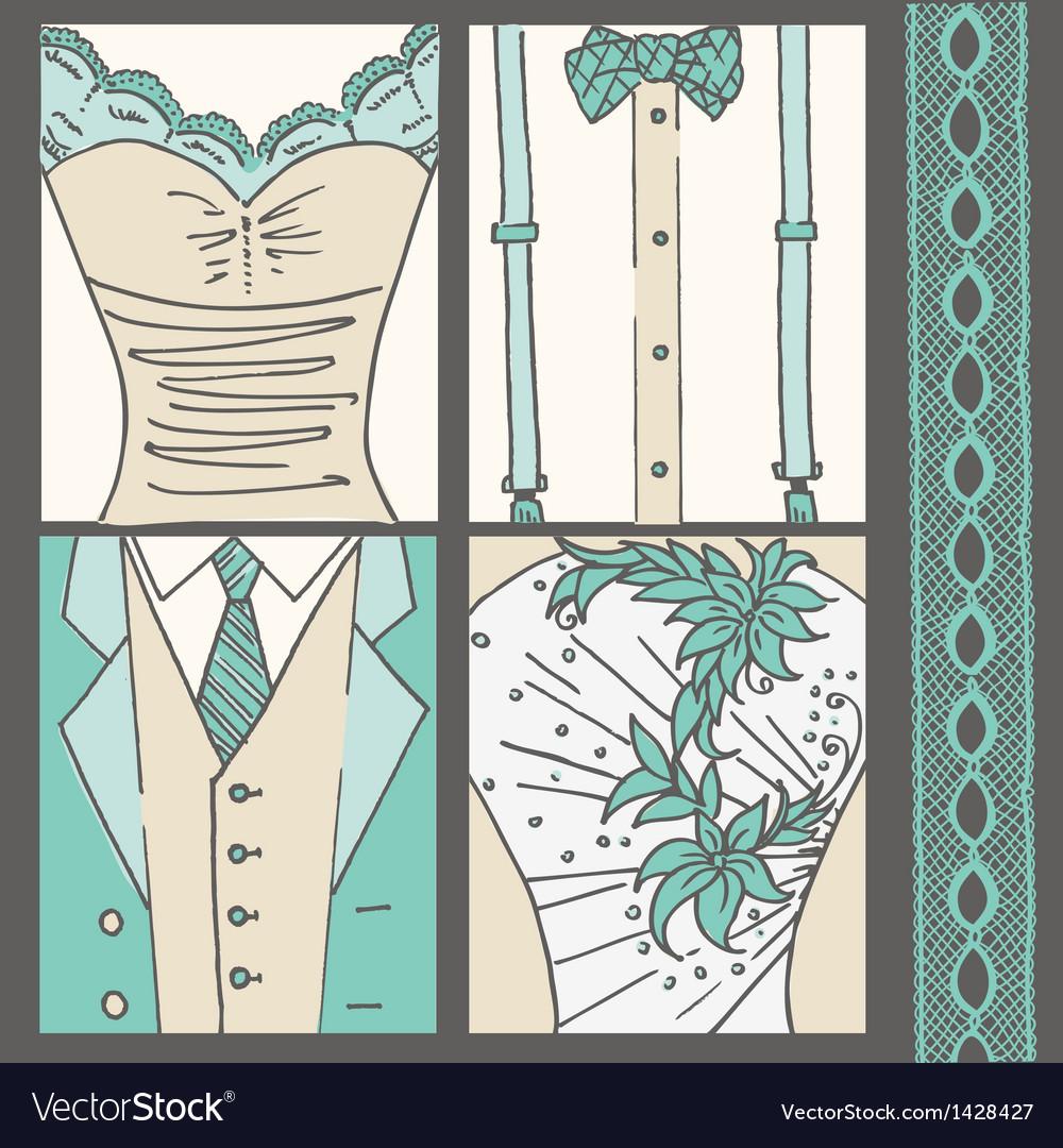 Wedding invitation card vector   Price: 3 Credit (USD $3)