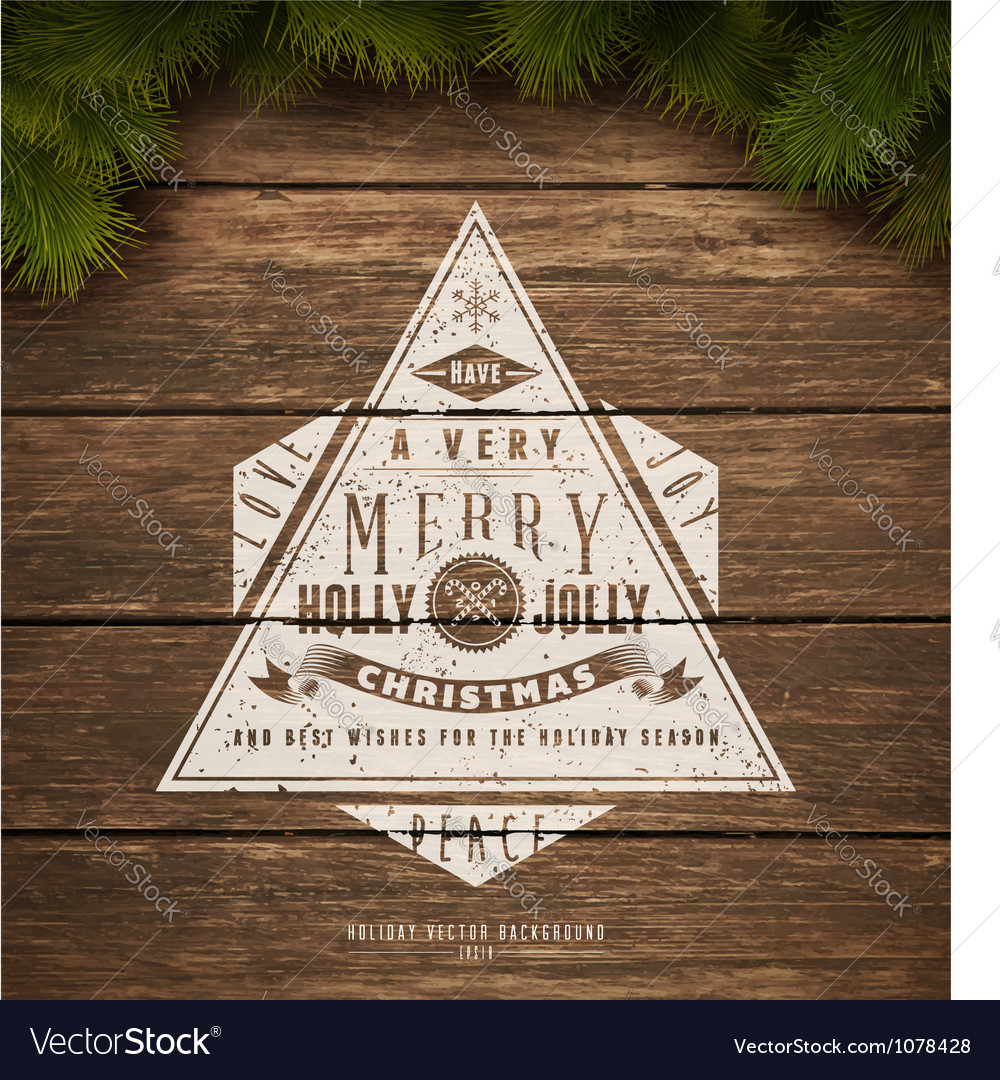 Holidays sign vector | Price: 1 Credit (USD $1)