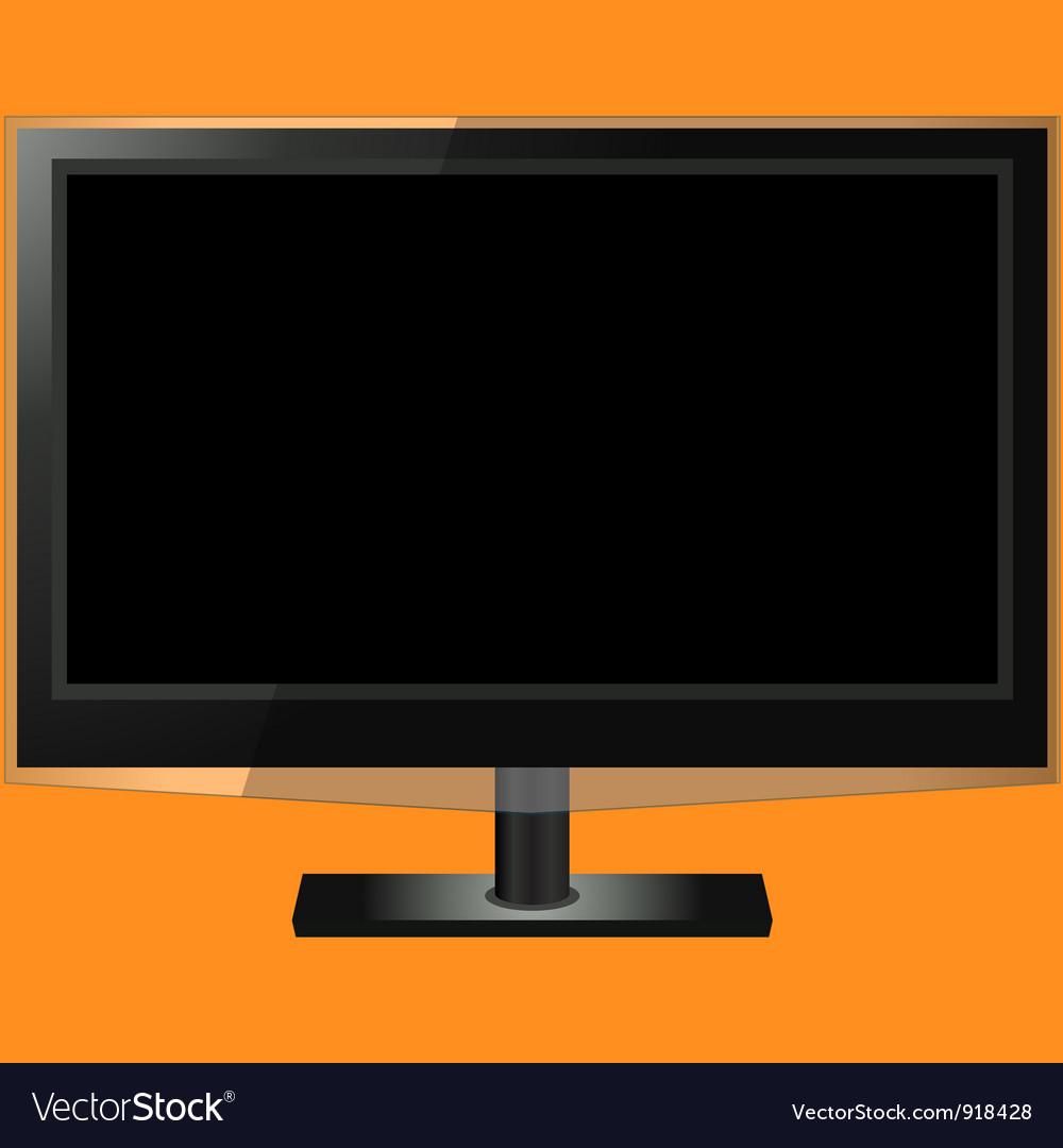 Lcd tv vector | Price: 1 Credit (USD $1)