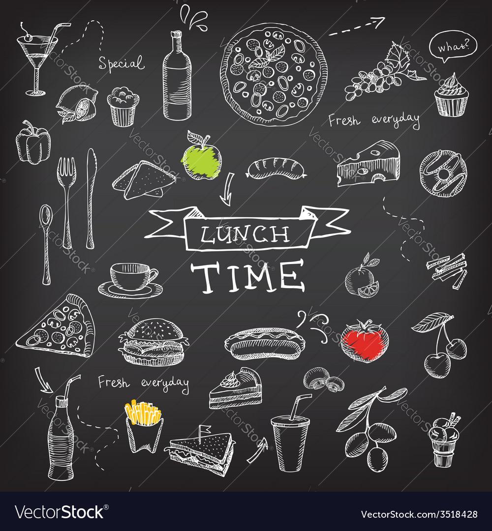 Restaurant cafe menu template design vector | Price: 1 Credit (USD $1)