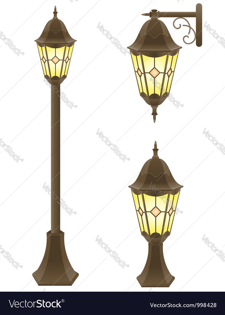 Streetlight 02 vector | Price: 1 Credit (USD $1)