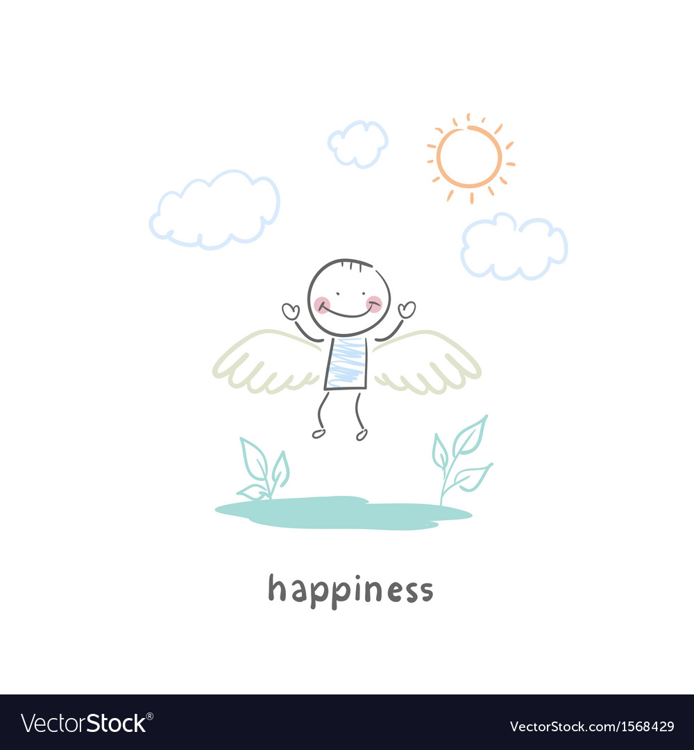 Happy people vector | Price: 1 Credit (USD $1)