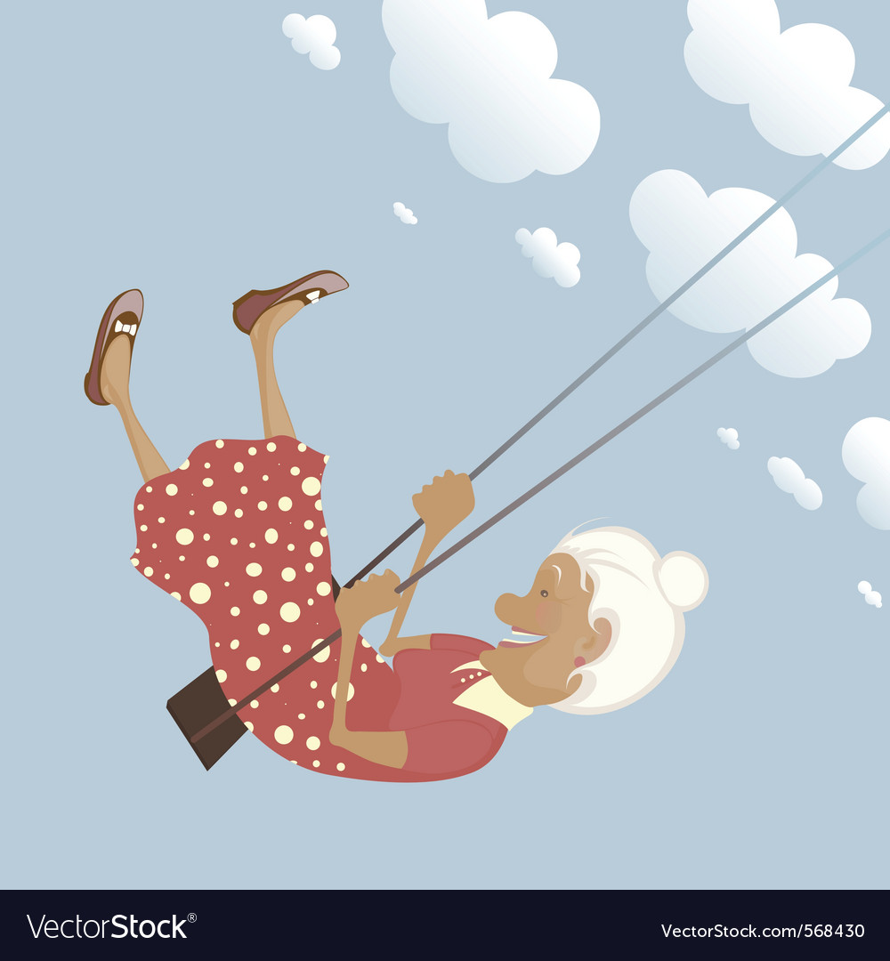 Granny swing vector | Price: 3 Credit (USD $3)