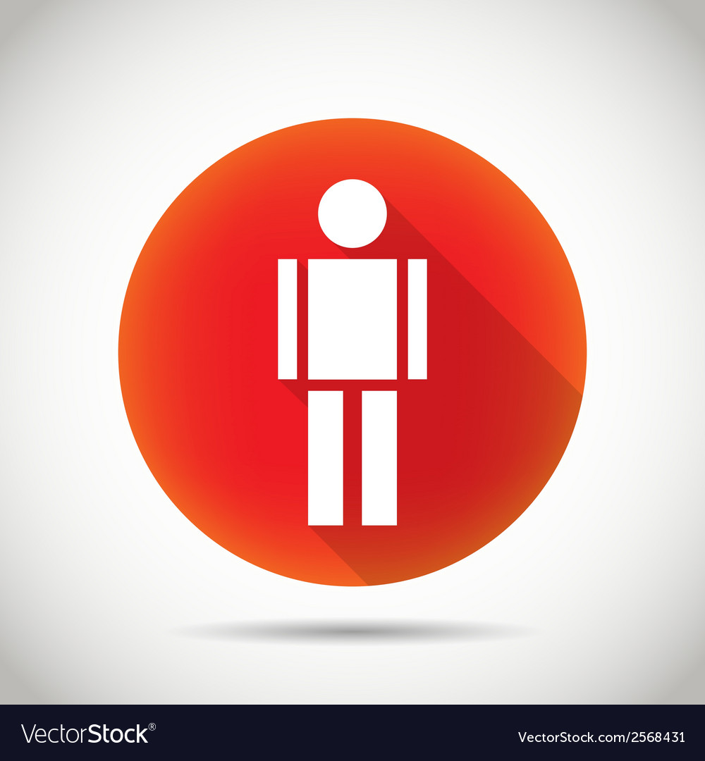 Man icon vector | Price: 1 Credit (USD $1)