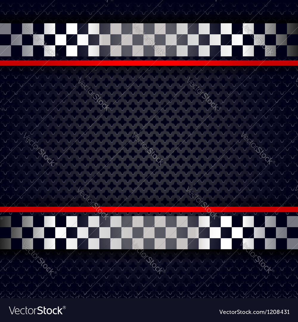 Metallic perforated sheet background for race vector | Price: 1 Credit (USD $1)