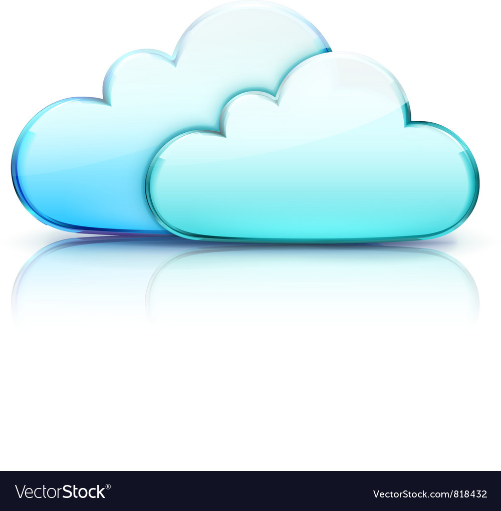 Cloud storage concept vector | Price: 3 Credit (USD $3)