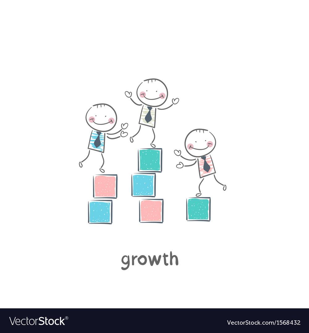 Growth vector | Price: 1 Credit (USD $1)