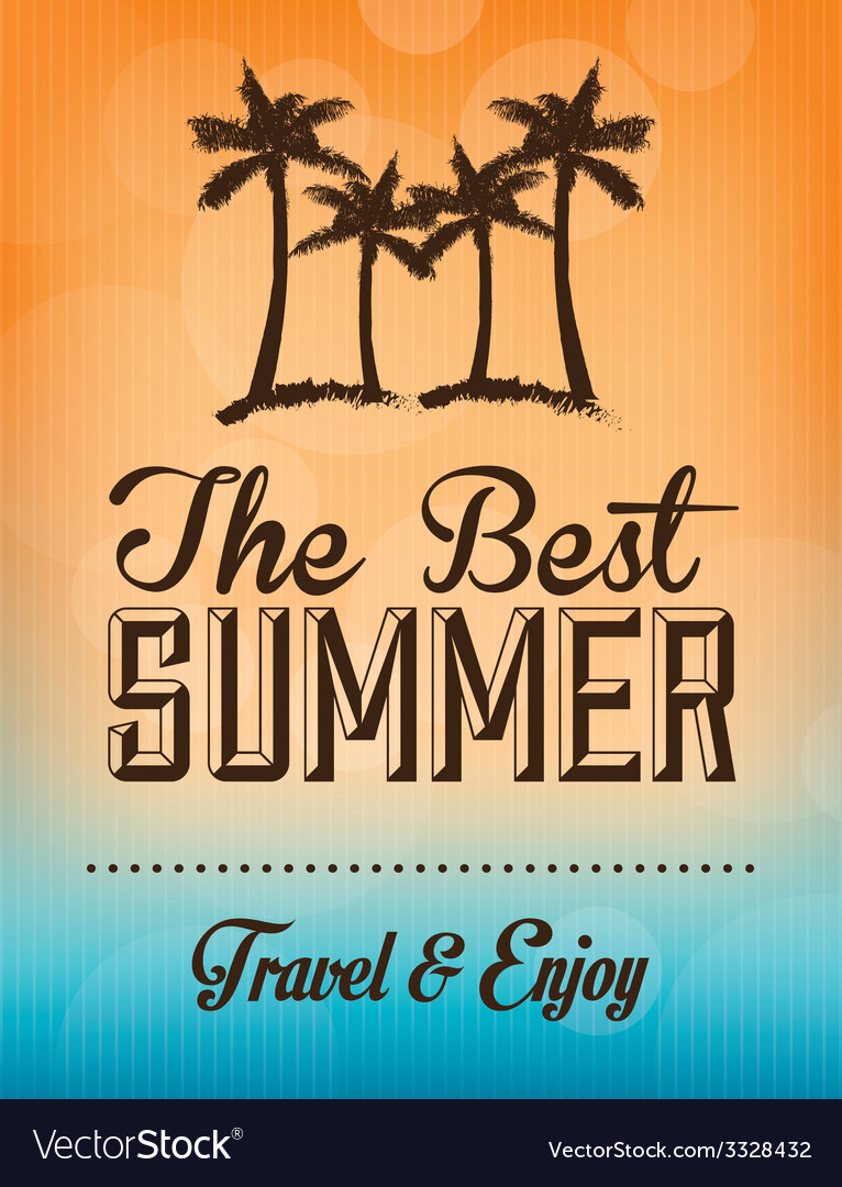 Summer design vector | Price: 1 Credit (USD $1)