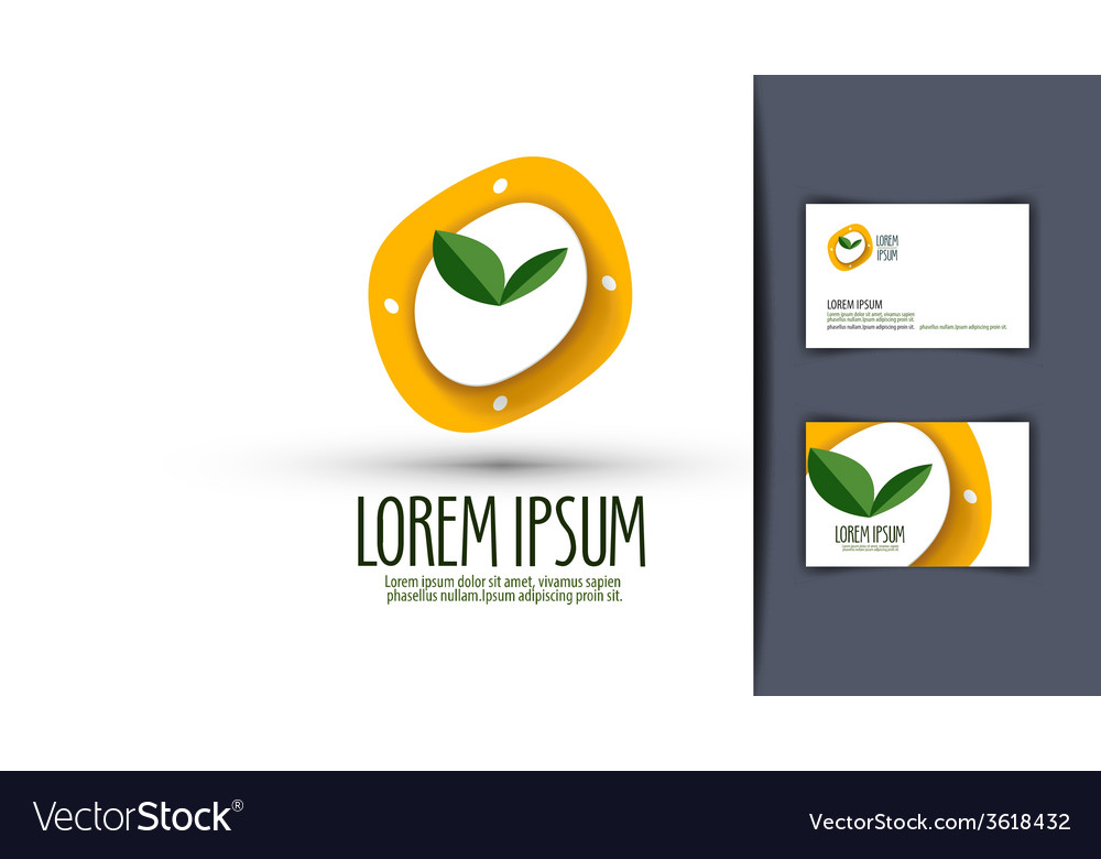 Watches diet eating logo icon emblem template vector | Price: 1 Credit (USD $1)