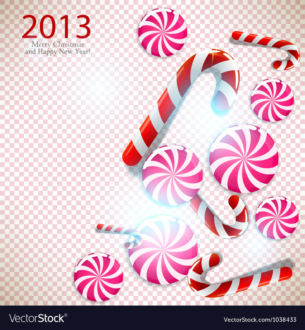 Merry christmas and happy new year 2013 background vector | Price: 1 Credit (USD $1)