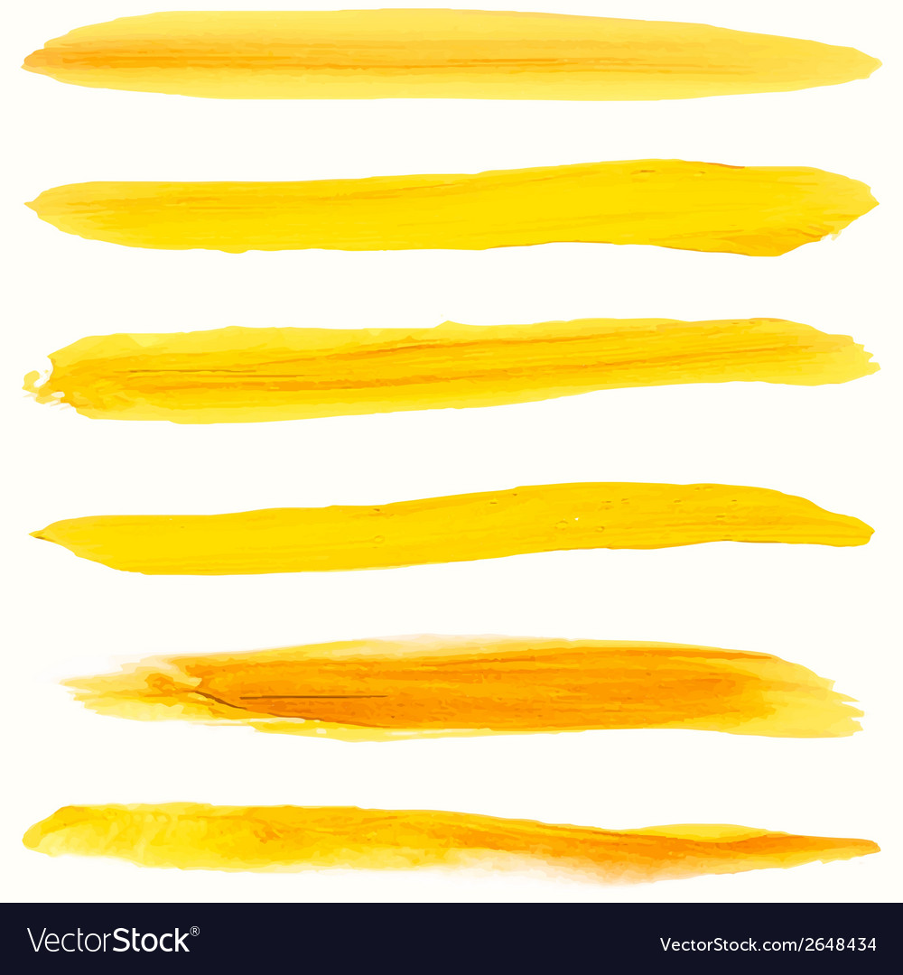 Beautiful bright watercolor stripes eps 10 vector | Price: 1 Credit (USD $1)