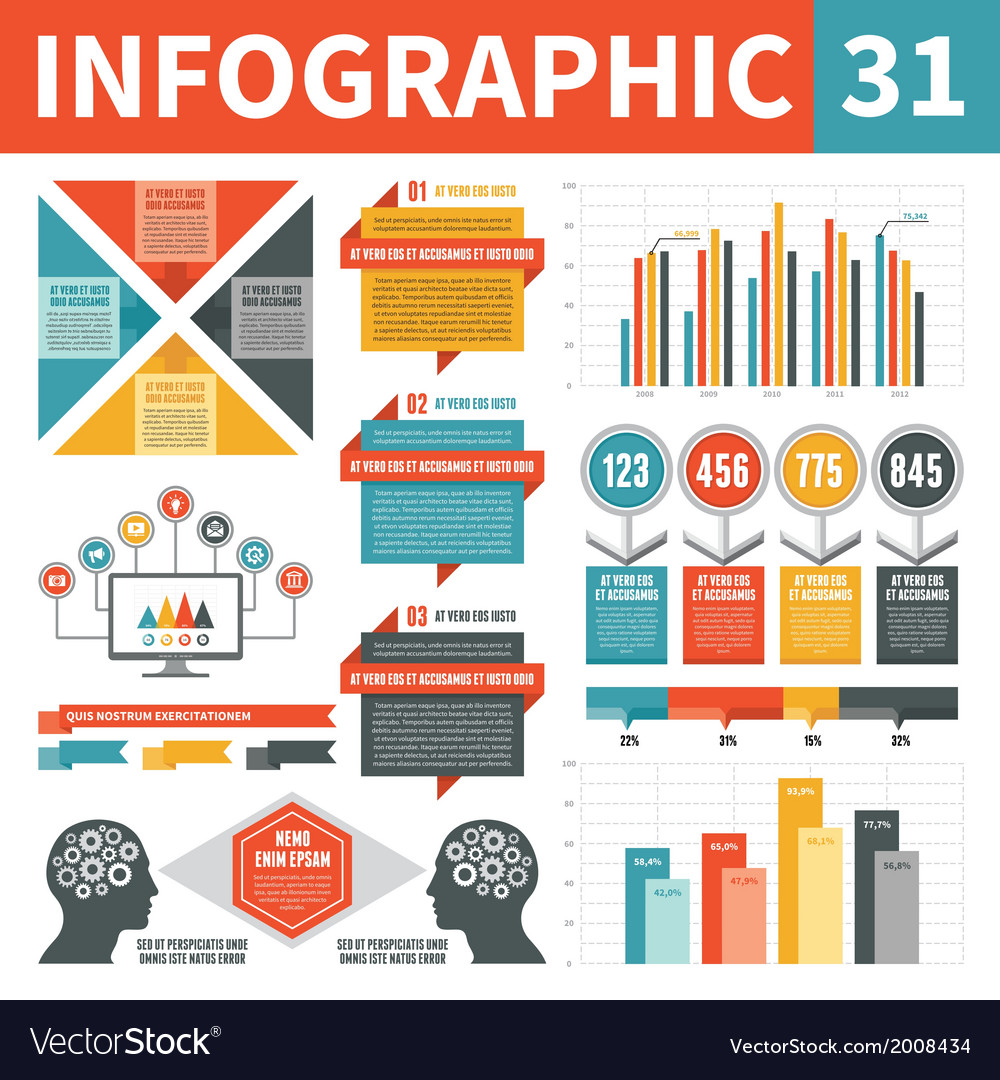 Infographic elements 31 vector | Price: 1 Credit (USD $1)