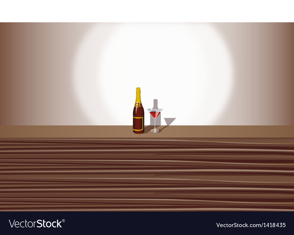 Wine cocktail background vector | Price: 1 Credit (USD $1)