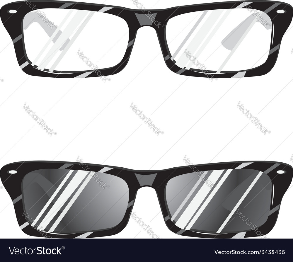 Hipster glasses3 vector | Price: 1 Credit (USD $1)