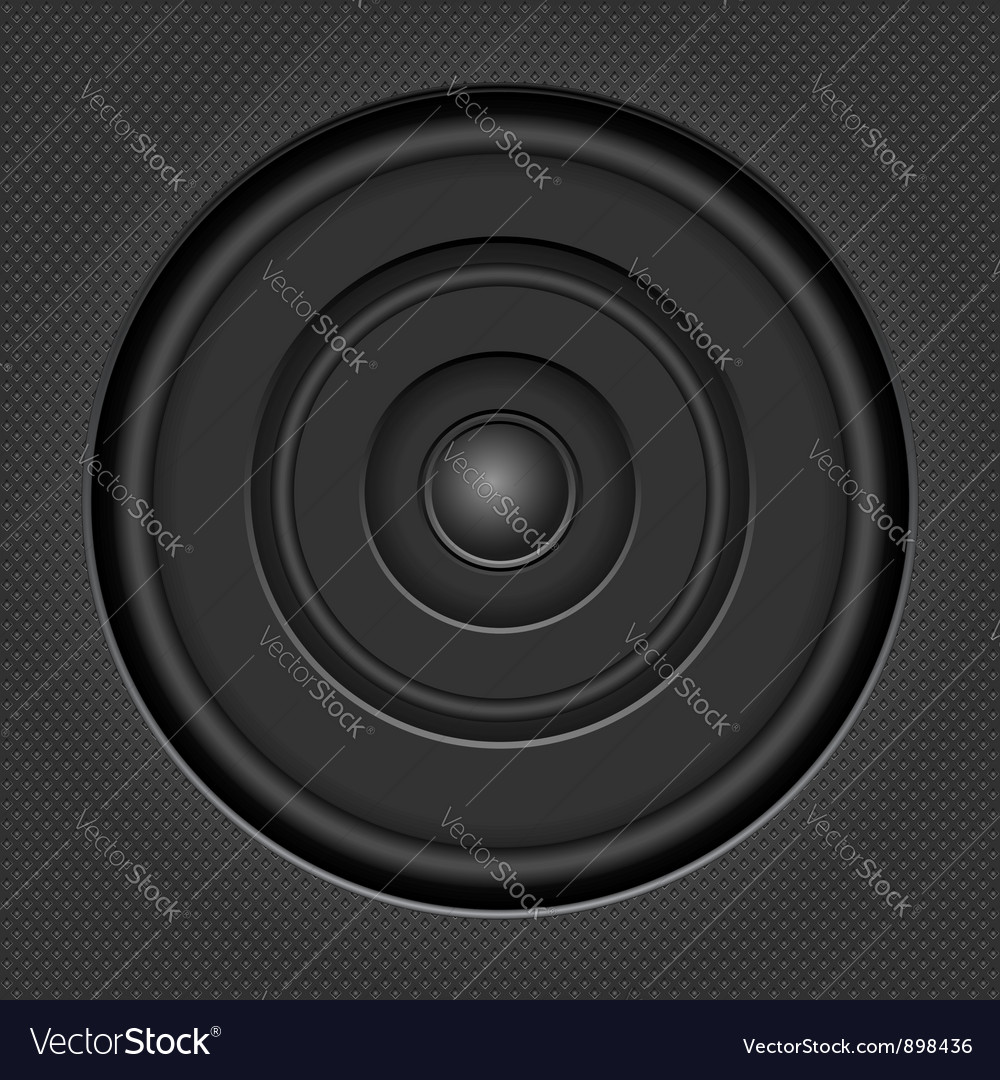 Sound speaker vector   Price: 1 Credit (USD $1)