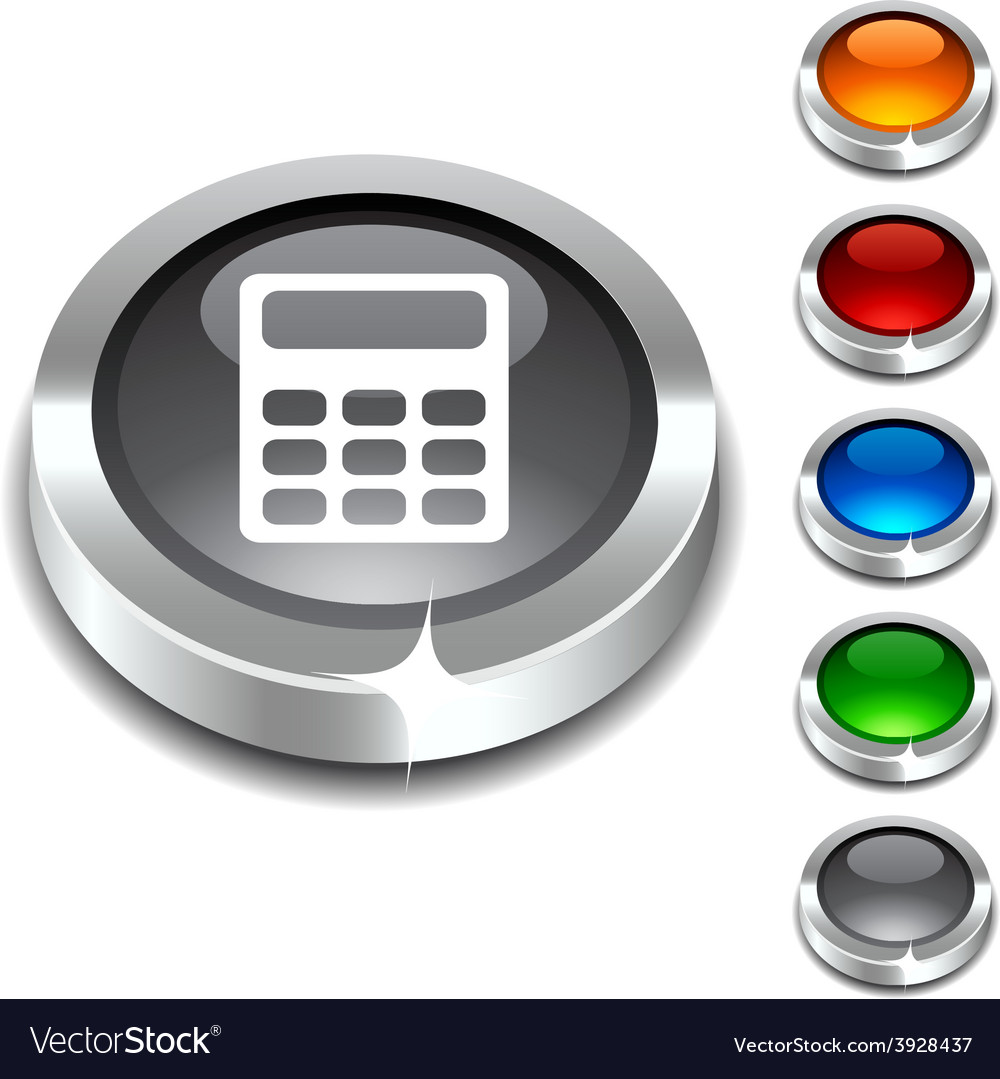 Calculate 3d button vector | Price: 1 Credit (USD $1)