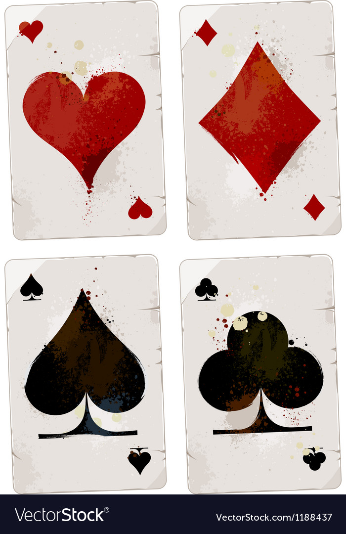 Poker cards set vector | Price: 1 Credit (USD $1)