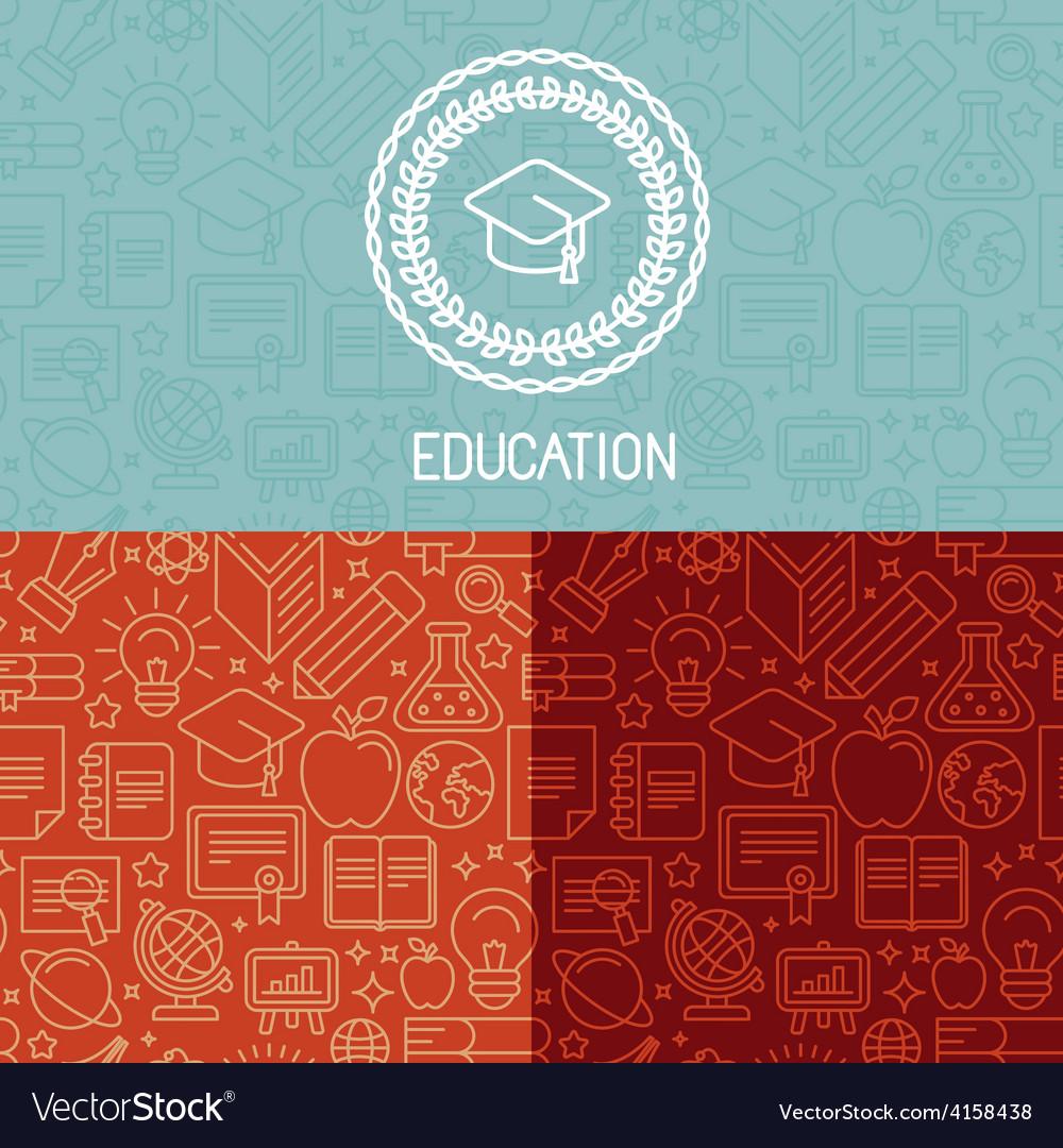 Educational logo design vector | Price: 1 Credit (USD $1)