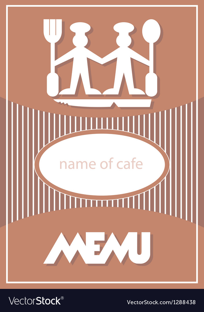 Menu card design vector | Price: 1 Credit (USD $1)