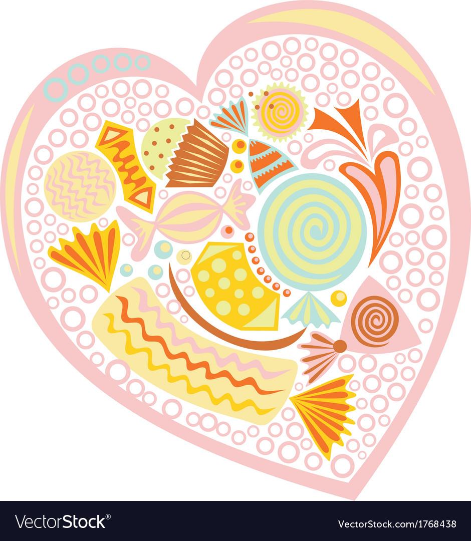 Sweet heart vector   Price: 1 Credit (USD $1)