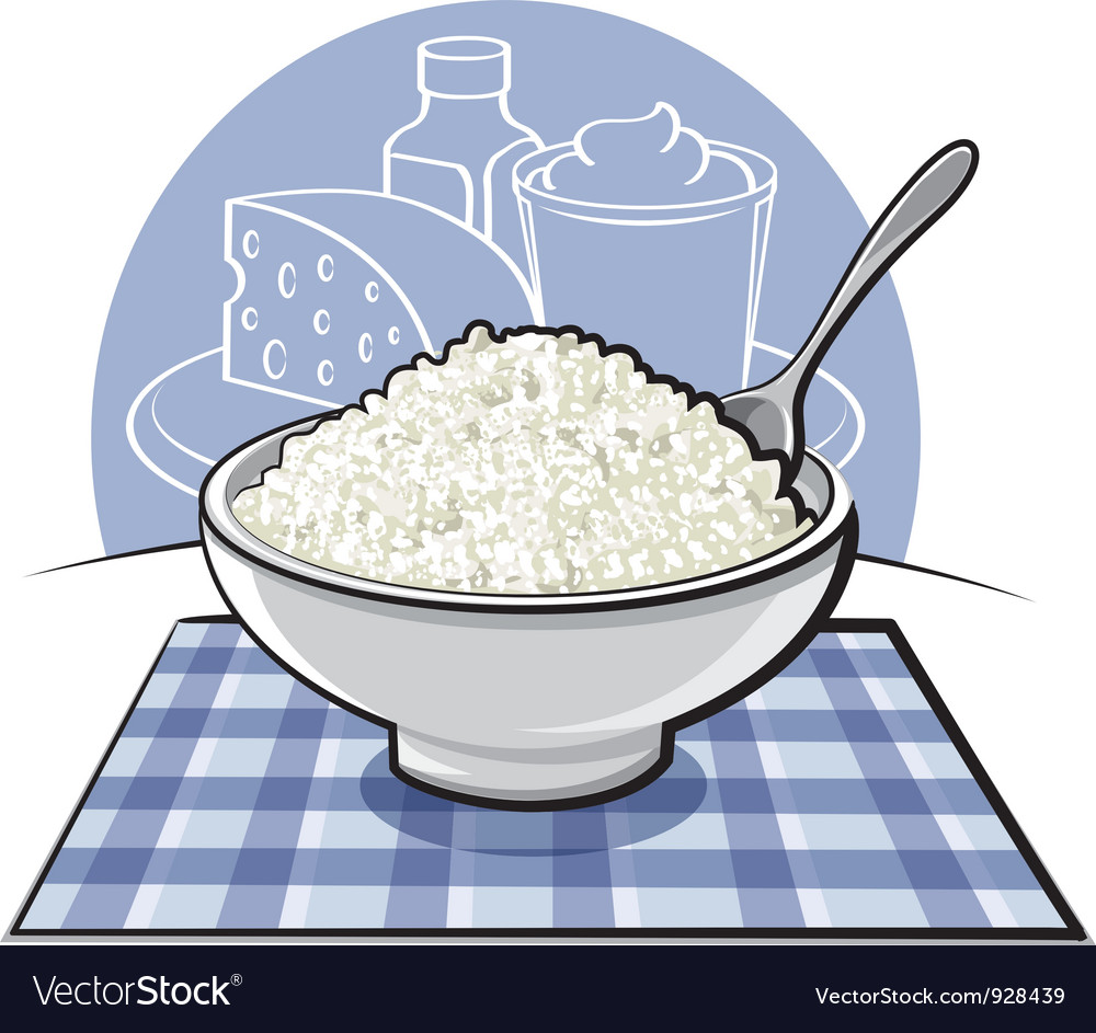 Cottage cheese vector | Price: 3 Credit (USD $3)