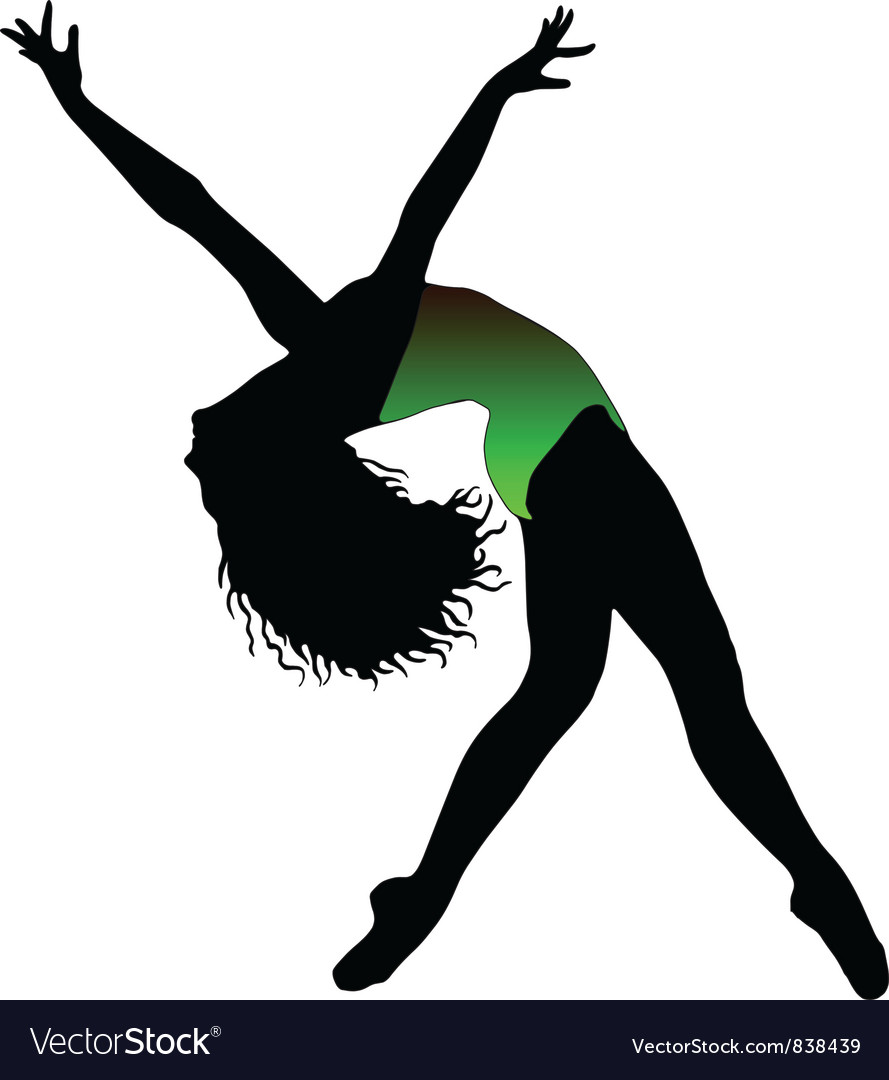 Jazz dancer vector | Price: 1 Credit (USD $1)