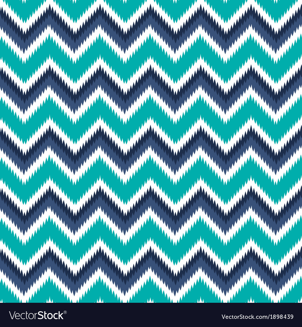Retro modern neo vintage ikat chevron vector | Price: 1 Credit (USD $1)