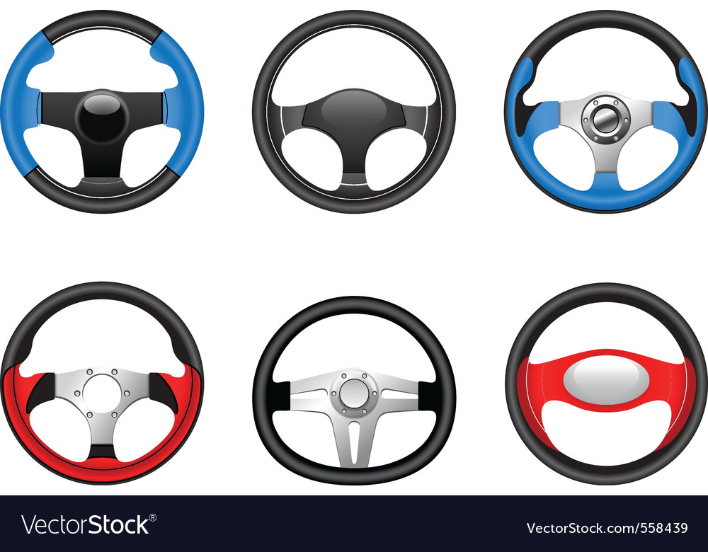 Steering wheels vector | Price: 3 Credit (USD $3)
