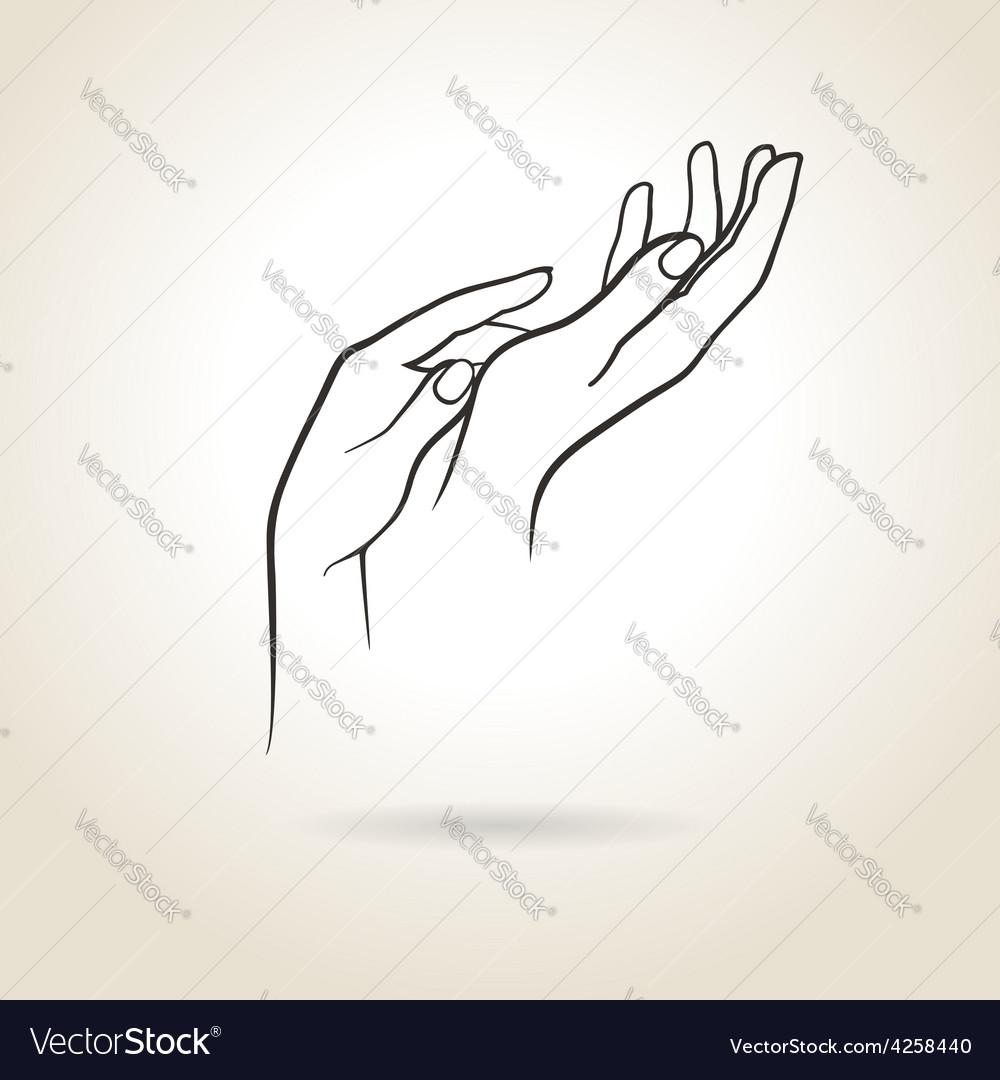 Female hands vector   Price: 1 Credit (USD $1)
