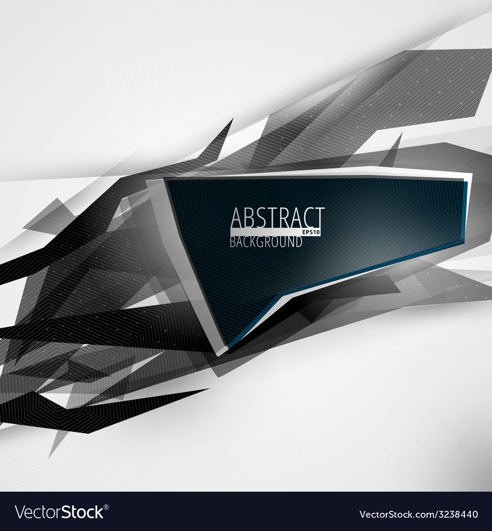 Futuristic abstract lines background vector | Price: 1 Credit (USD $1)