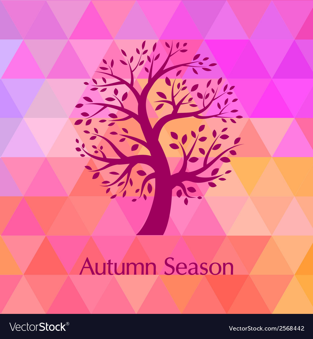 Autumn bright background for your design vector | Price: 1 Credit (USD $1)