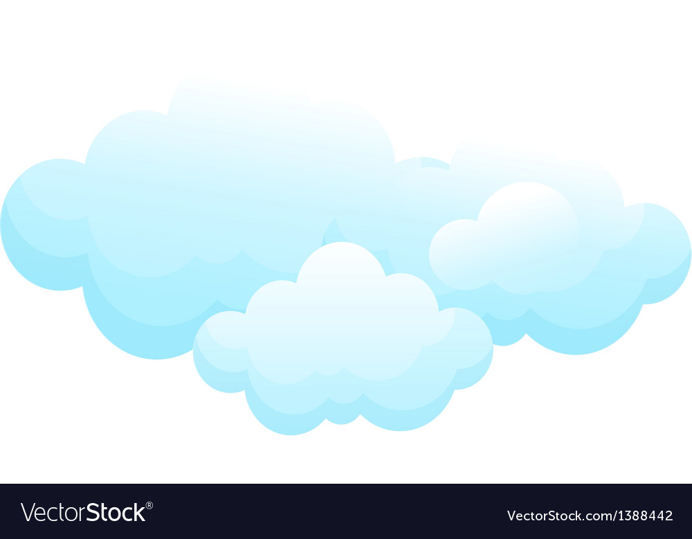 Icon cloud vector | Price: 1 Credit (USD $1)