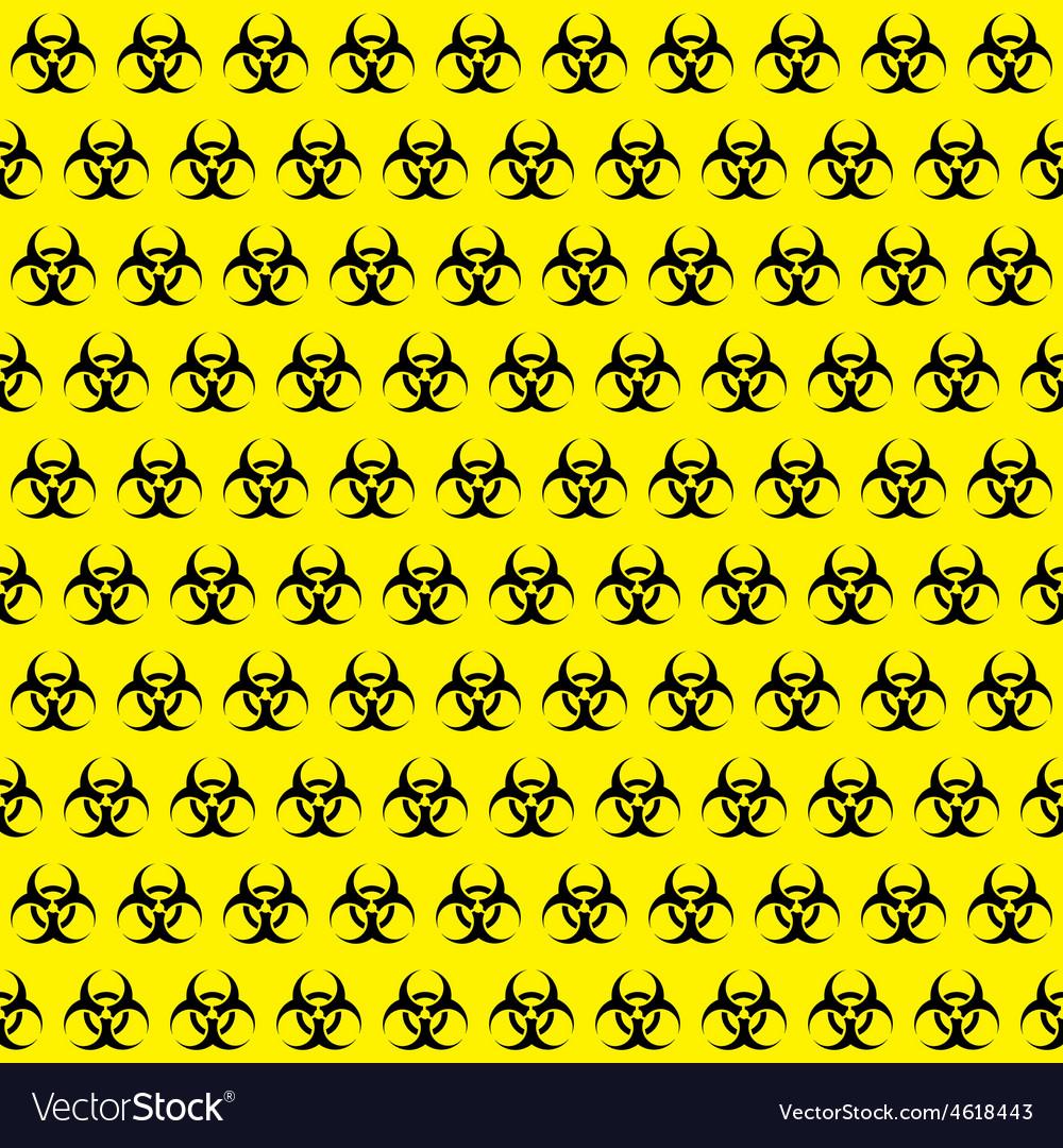 Bio hazard sign pattern vector   Price: 1 Credit (USD $1)