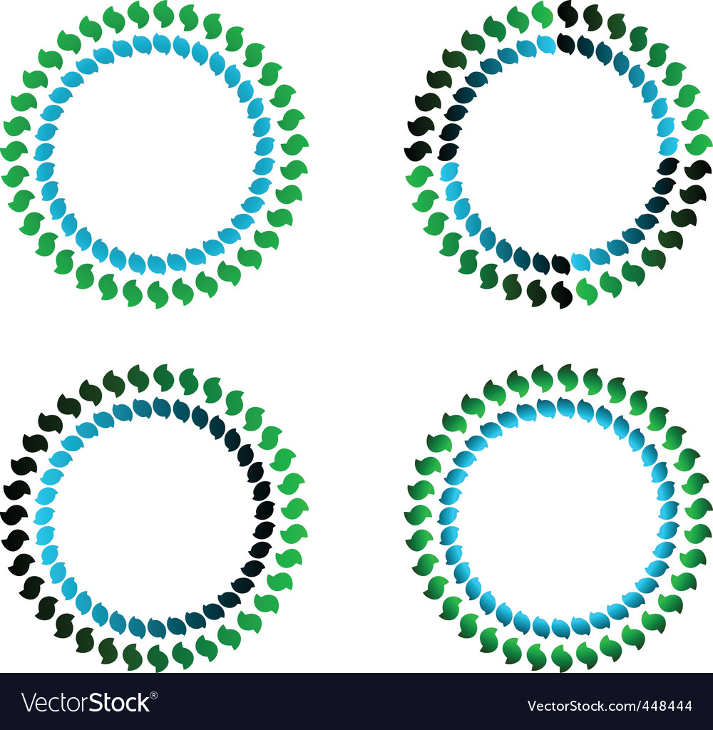 Coloured circles vector | Price: 1 Credit (USD $1)
