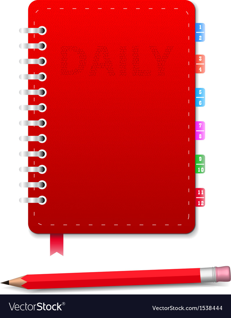 Daily and pensil vector | Price: 1 Credit (USD $1)