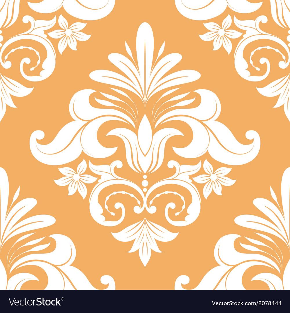 Orange swirl pattern vector | Price: 1 Credit (USD $1)