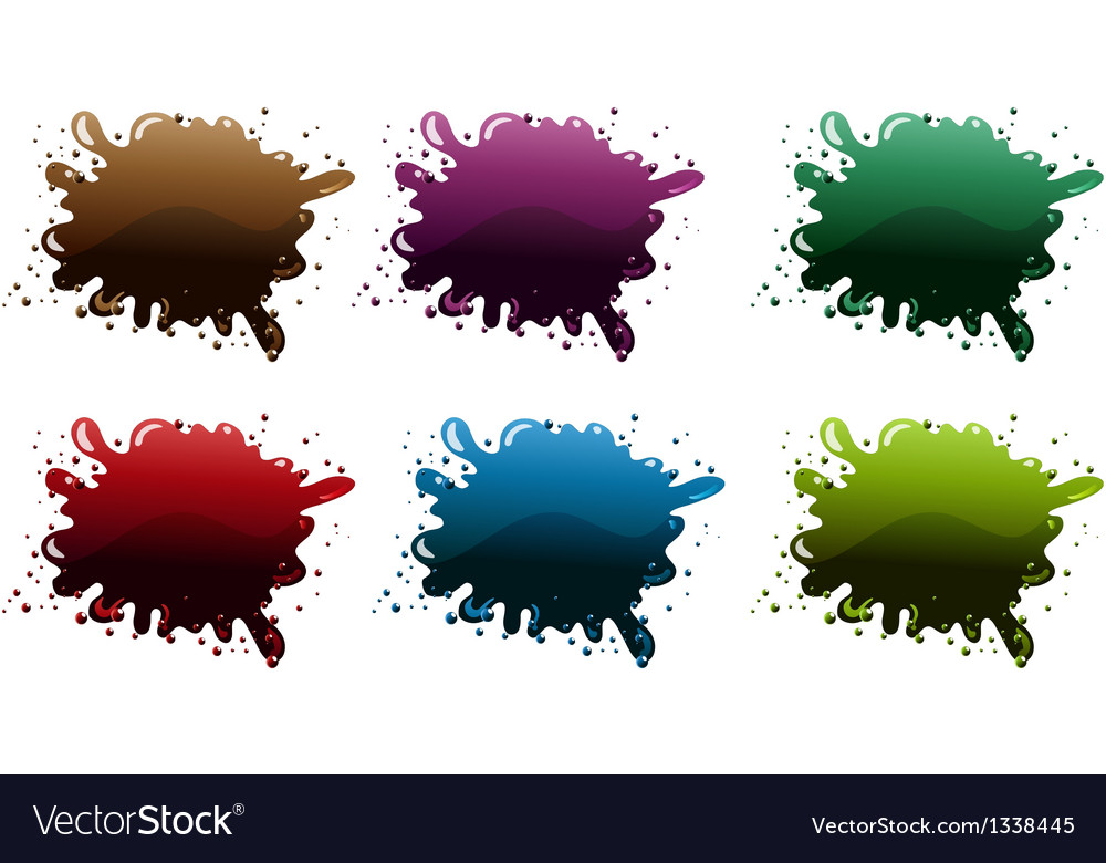 Different paint colors vector | Price: 1 Credit (USD $1)