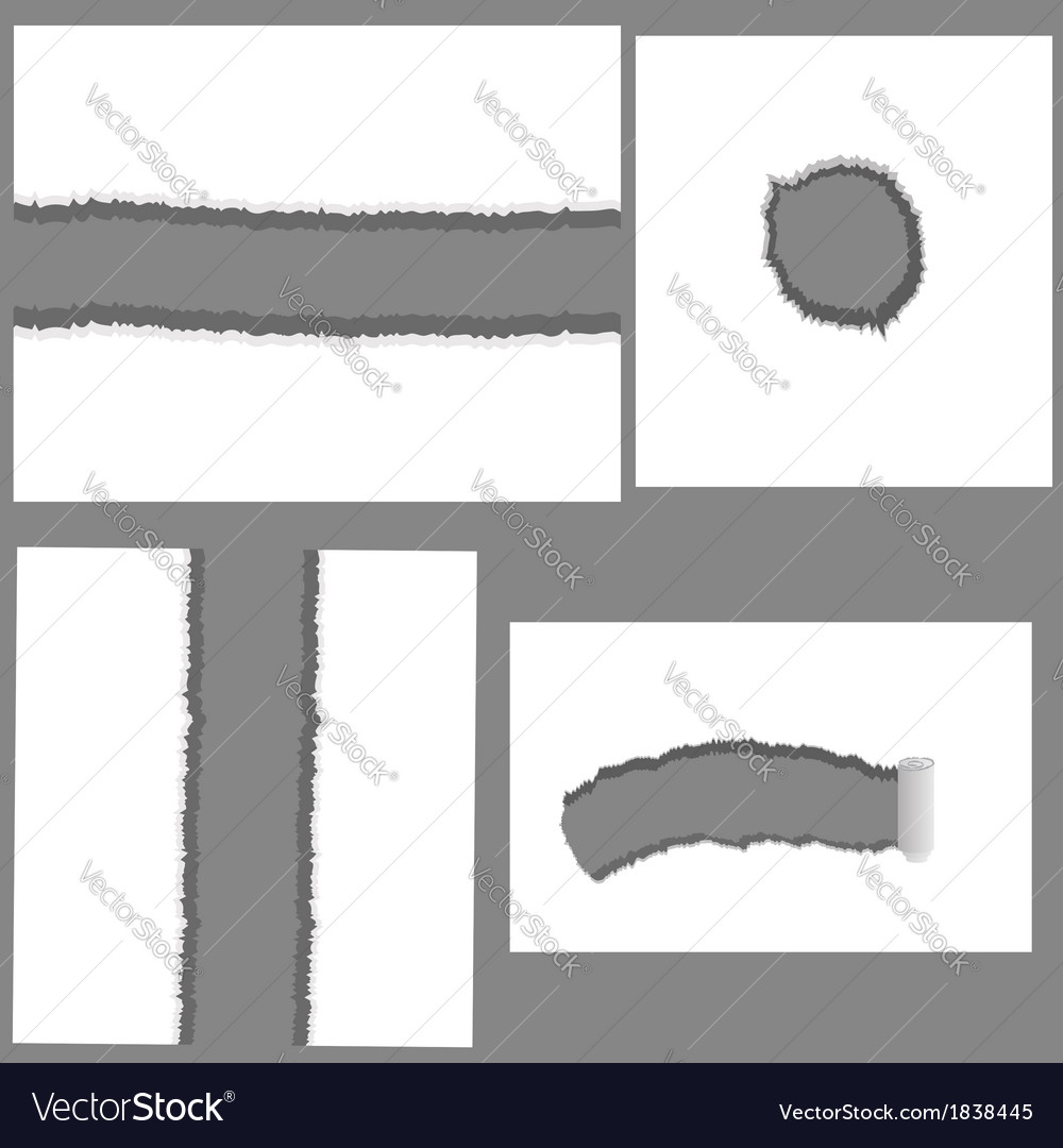 Set of holes vector | Price: 1 Credit (USD $1)