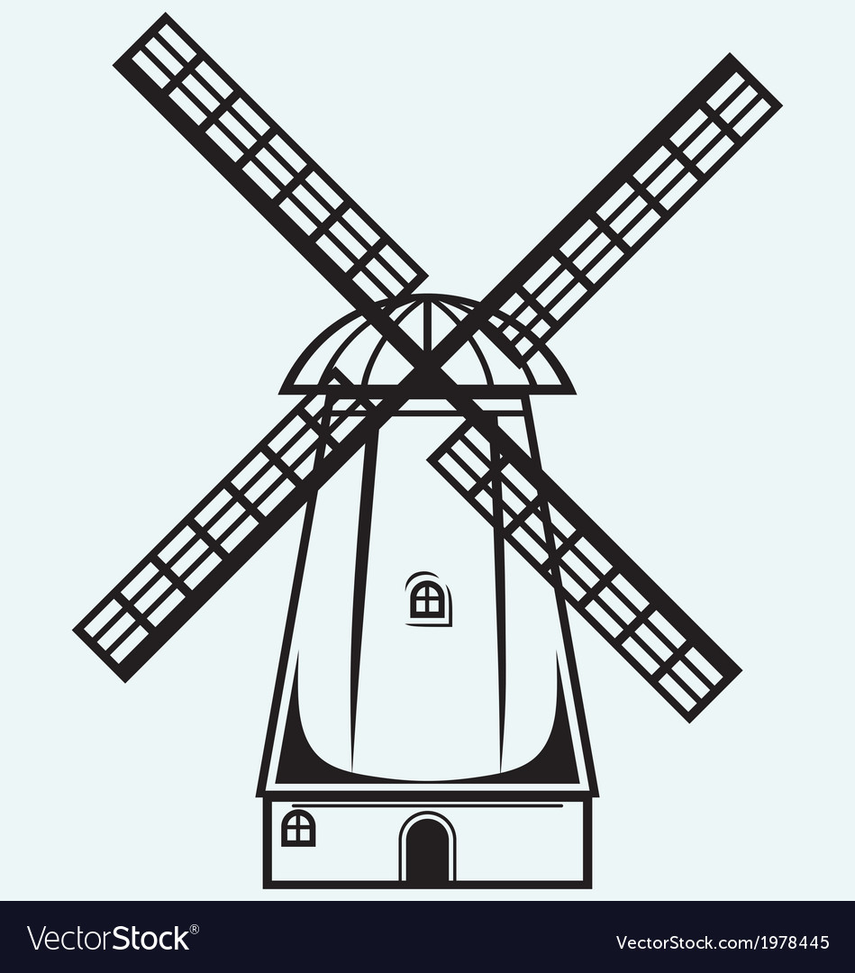 Symbol mill vector | Price: 1 Credit (USD $1)