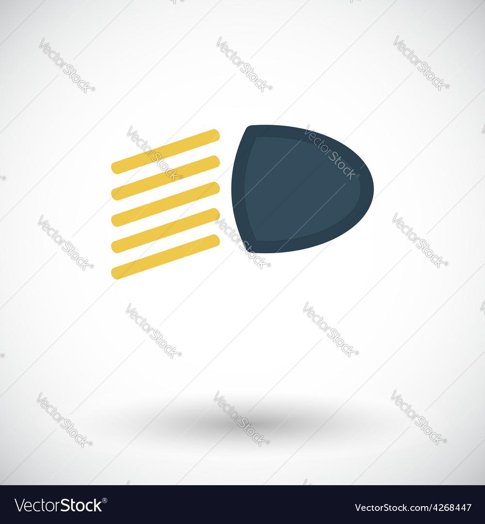 Headlight icon vector   Price: 1 Credit (USD $1)