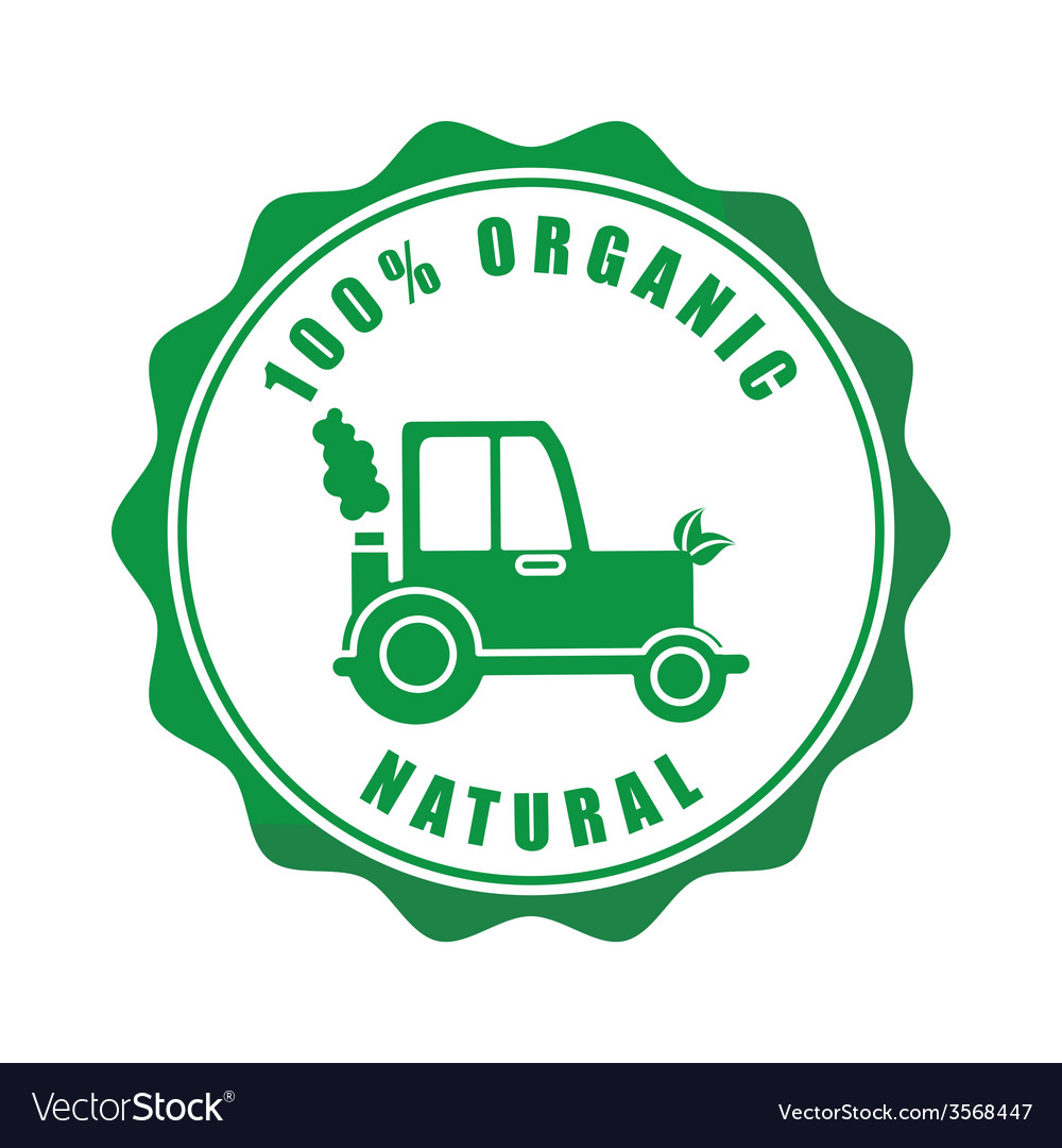 Organic food vector | Price: 1 Credit (USD $1)