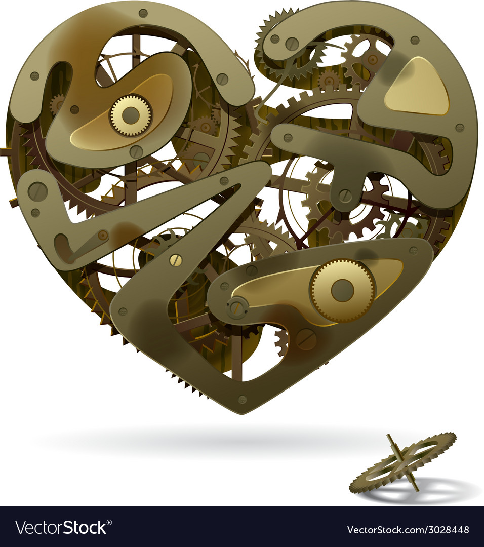 Clockwork heart vector | Price: 3 Credit (USD $3)