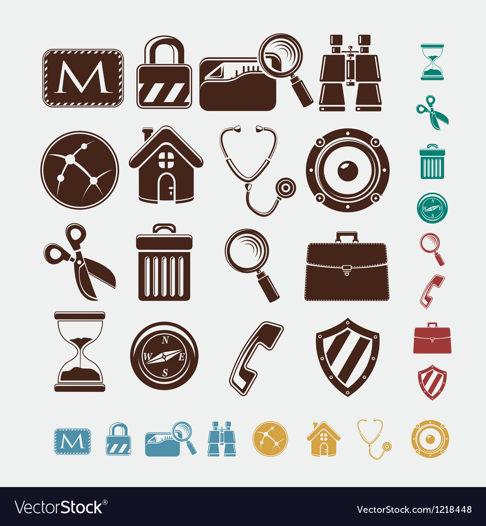 Icons for internet vector | Price: 1 Credit (USD $1)