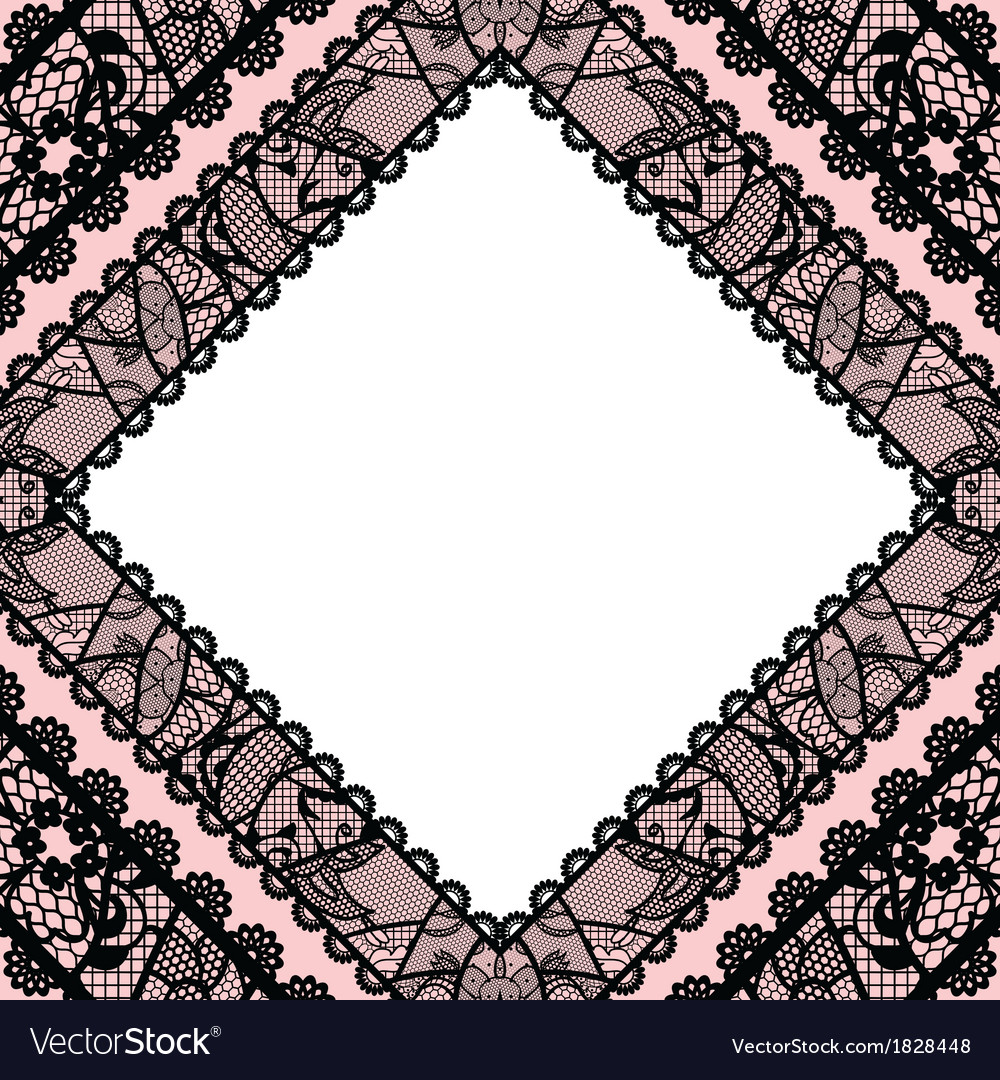 Lacy vintage background vector | Price: 1 Credit (USD $1)