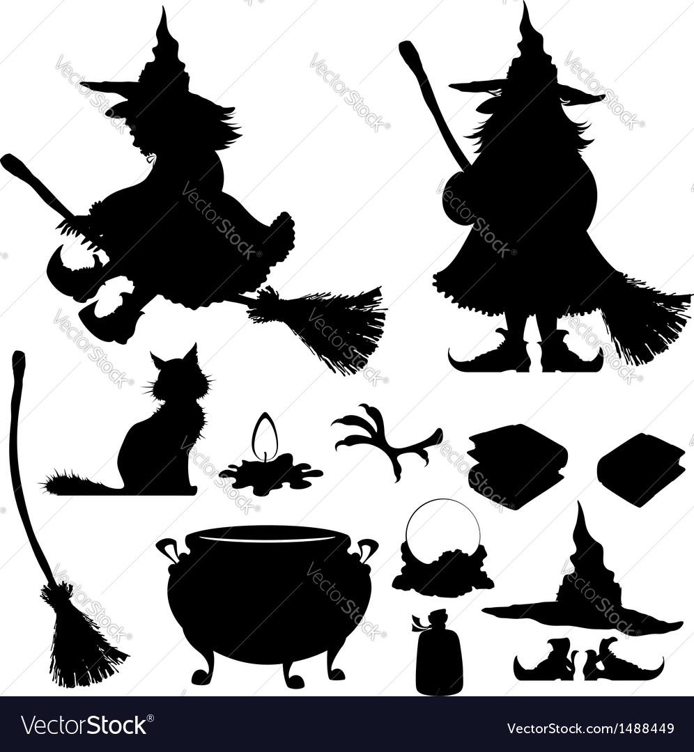 Halloween icon  set vector | Price: 1 Credit (USD $1)